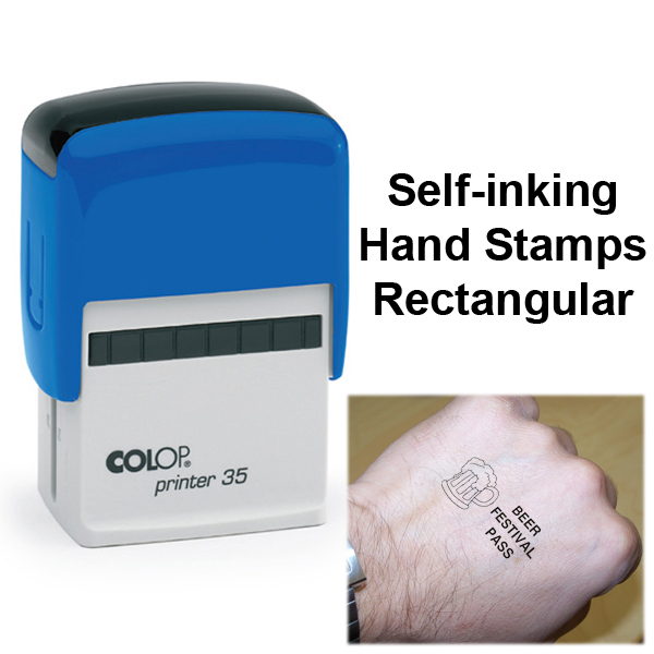 Self Inking Hand Stamps