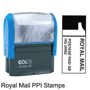 Royal Mail Printed Postage Impressions