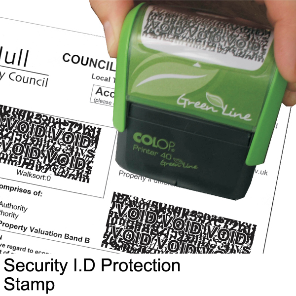 Security ID Protection Stamp:Protecting Your Identity