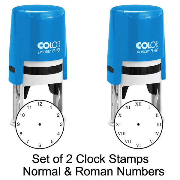 School Self-Inking Clock Stamps