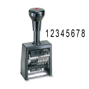 Automatic Self-Inking Number Stamps