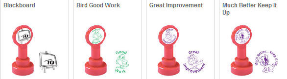 Educational & Motivational Stamps