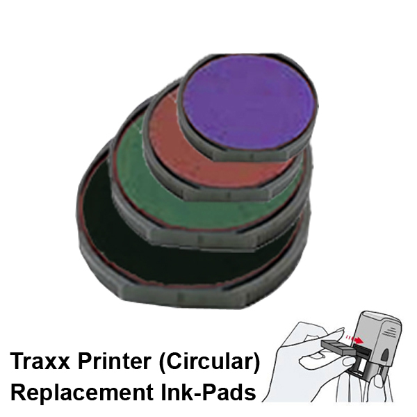 Traxx Printer Replacement Ink-Pads