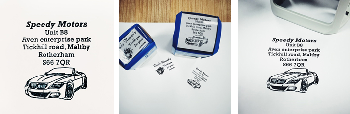 Rubber Stamps For Your Business/Garage