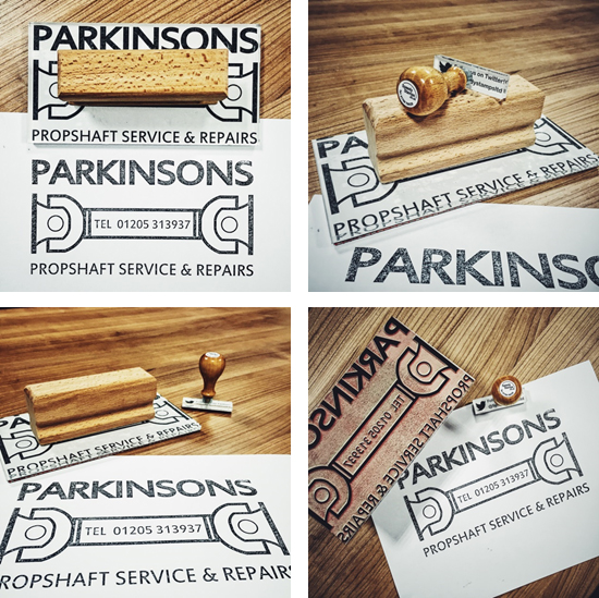 Branding Solutions with a Rubber Stamp!