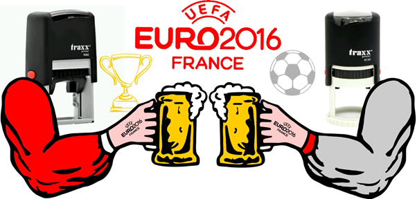 Rubber Stamps for the EUROS!