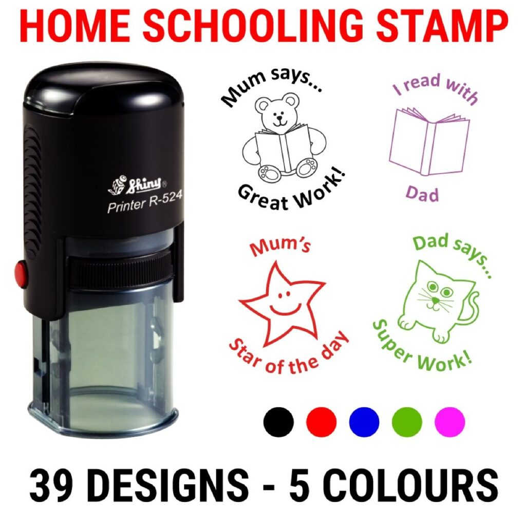 Home Schooling Stamp