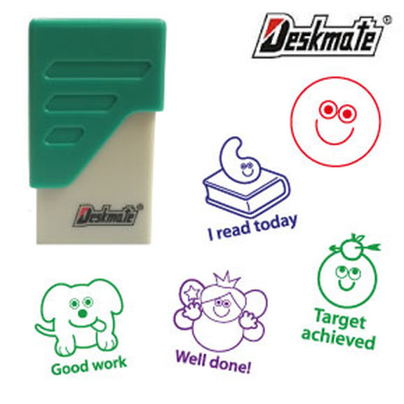 Deskmate Pre-inked School Stamps