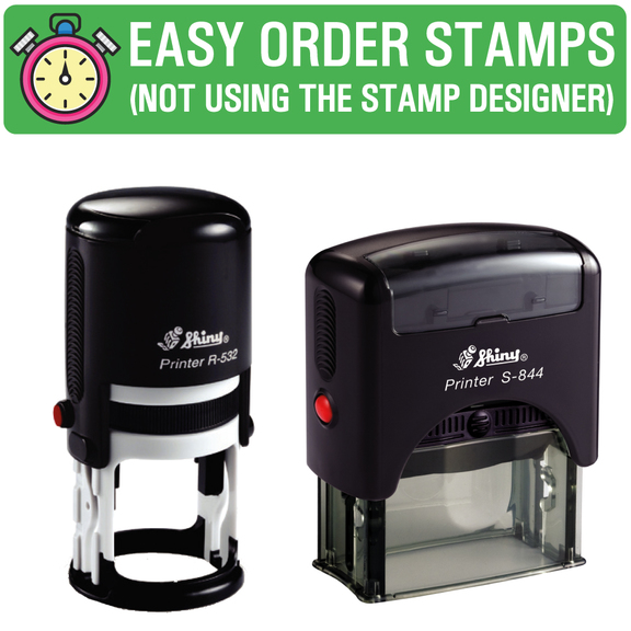 Easy Speedy Stamps (Quick and Easy to order)