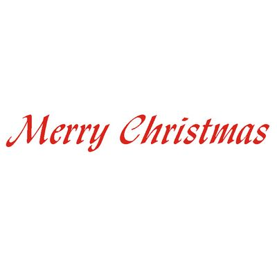 Merry Christmas Text.Merry Christmas Text Buy Online At Speedy Stamps