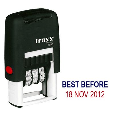 Traxx Mini Date Stamp Best Before