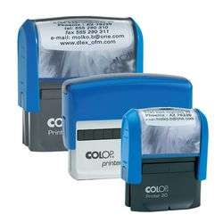 Colop Self Inking Rectangular Stamps
